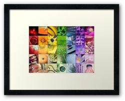 A Year of Colour - Framed Print