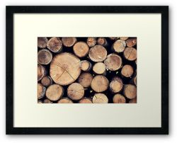Stack 'Em High - Framed Print