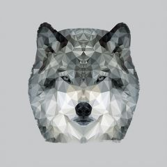 The Wolf - Print