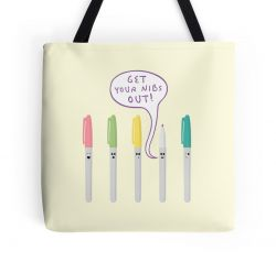 Pens Gone Wild - Tote Bag