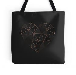 Kintsugi - Gold Rose - Tote Bag