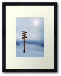 Top of the World - Framed Print