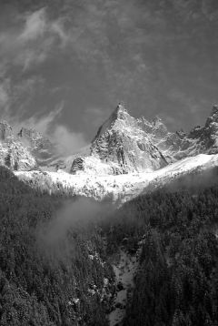 Chamonix Valley 1 - Print