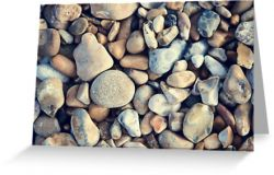 The Stones Beneath My Feet - Greeting Card