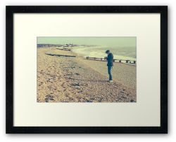 A Trip to the Beach - Framed Print