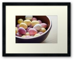 All Your Eggs in My Basket - Framed Print