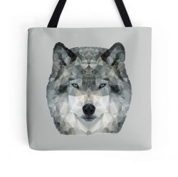 The Wolf - Tote Bag