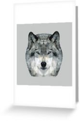 The Wolf - Greeting Card