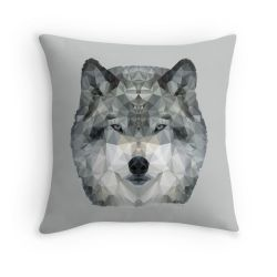 The Wolf - Cushion