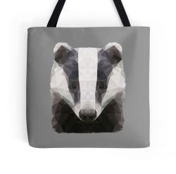 The Badger - Tote Bag