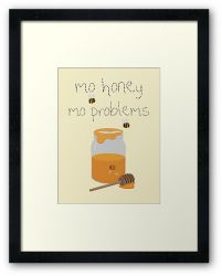 A Sticky Situation - Framed Print