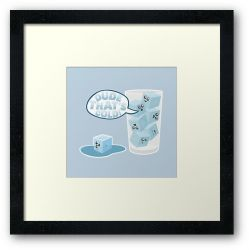 Ice Cold - Framed Print