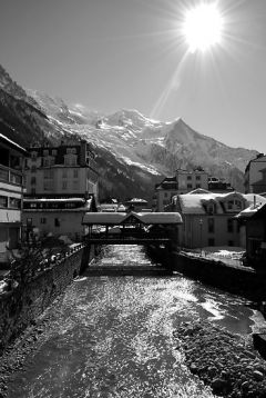 Chamonix Bridge - Print