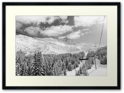 Meribel II - Framed Print
