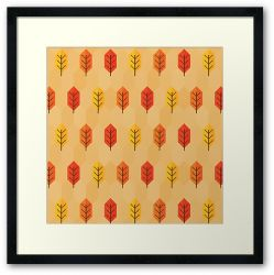 Leaf After Leaf - Framed Print