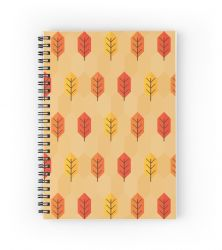 Leaf After Leaf - Notebook