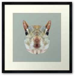 The Squirrel - Framed Print