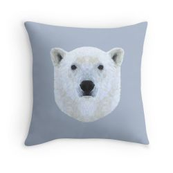 The Polar Bear - Cushion