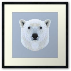The Polar Bear - Framed Print