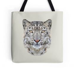 The Snow Leopard - Tote Bag