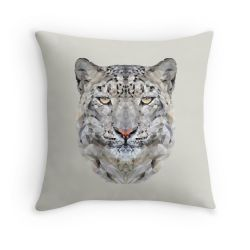 The Snow Leopard - Cushion