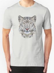 The Snow Leopard - T-Shirt/Clothing