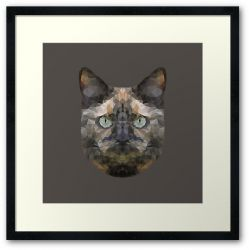 The Tortoiseshell - Framed Print