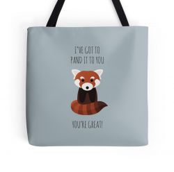 Red Panda Thinks You're Great