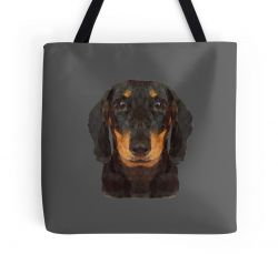The Miniature Dachshund - Tote Bag