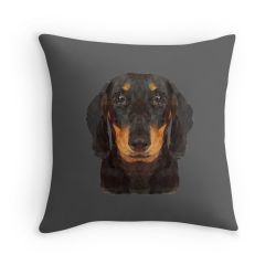 The Miniature Dachshund - Cushion