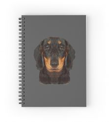 The Miniature Dachshund - Notebook