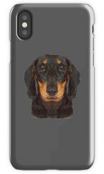 The Miniature Dachshund - Phone Case