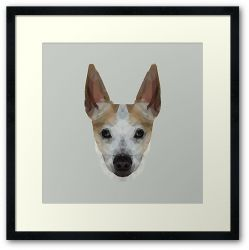 The Jack Russell - Finn - Framed Print