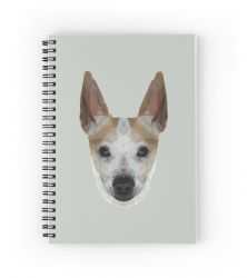 The Jack Russell - Finn - Notebook