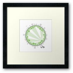 The Grass is Always Greener - Framed Print