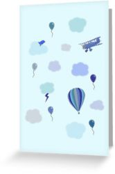Flying High - Greeting Card