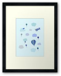 Flying High - Framed Print