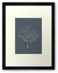 Chilly Threads - Framed Print